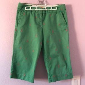 Light green J. Crew pants